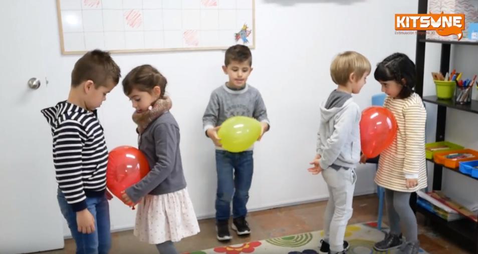 psicomotricidad para niños en bilbao
